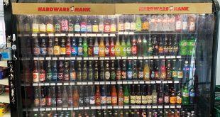 Impulse display of soda