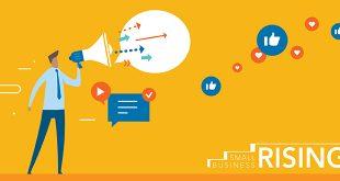 Small Business Rising Social Media Posts