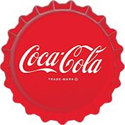 Coca-Cola Bottle Cap wall sign