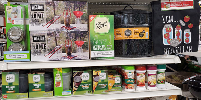 canning products
