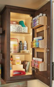 cabinet spice racks