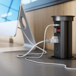 pop-up power outlet