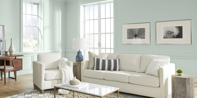 Behr 2022 Color of the Year - Breezeway